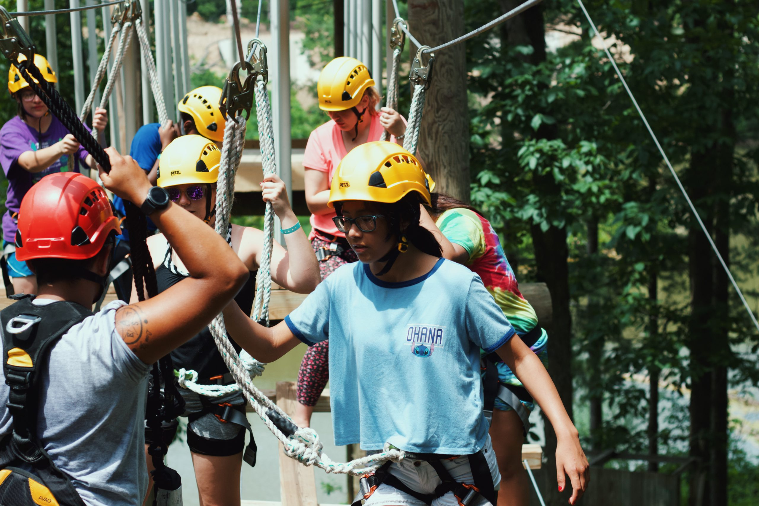 wildwood hills ranch high ropes course